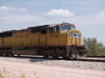 UP 4304 leads an EB doublestack at 10:48am