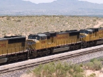 UP 4381 #3 power in a WB doublestack at 12:43pm