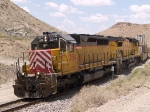 CEFX 2814 leads an EB doublestack at 12:49pm