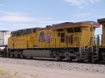 UP 7612 #4 power in ZLAMN EB at 10:15am