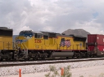 UP 5226 #3 power in a WB doublestack at 2:29pm