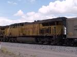 UP 7326 #1 DPU pusher in an EB coal train at 12:57pm