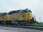 UP 3090 Leads EB Manifest South of Missouri Valley