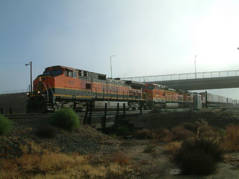 BNSF Westbound intermodal