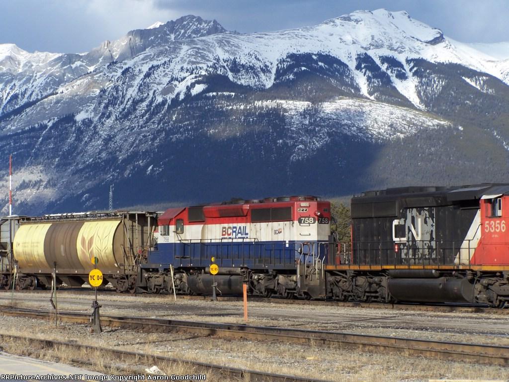 BCOL 758 in Jasper