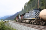 BCOL 4654 passing by Moose Lake