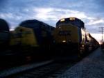 CSX 729 & 236
