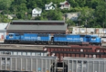 Conrail units heading for inspection?