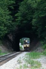 Virginian tunnel not quite Heartland Corridor material!!