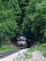 NS EB coal train on Virginian mainline