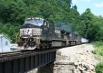 NS EB loaded coal train