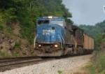 Loaded coal train heading for Princeton