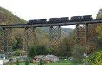 NS pusher on Virginian bridge