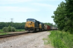 CSX 5376 heads for Danville