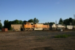 BNSF 8891 with loads