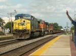 CSX 258 rolls West