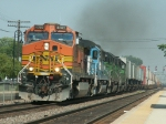 BNSF Z Train Goes West