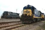 CSX 5515 in the Taft Yard