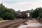 CSX Local Enters Fredericksburg Station