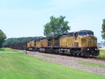 Northbound Detoured Empty Coal Train With Ex-GECX Warranty Protection Locomotive