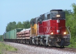 Southbound MNA Work Train With a MP Caboose