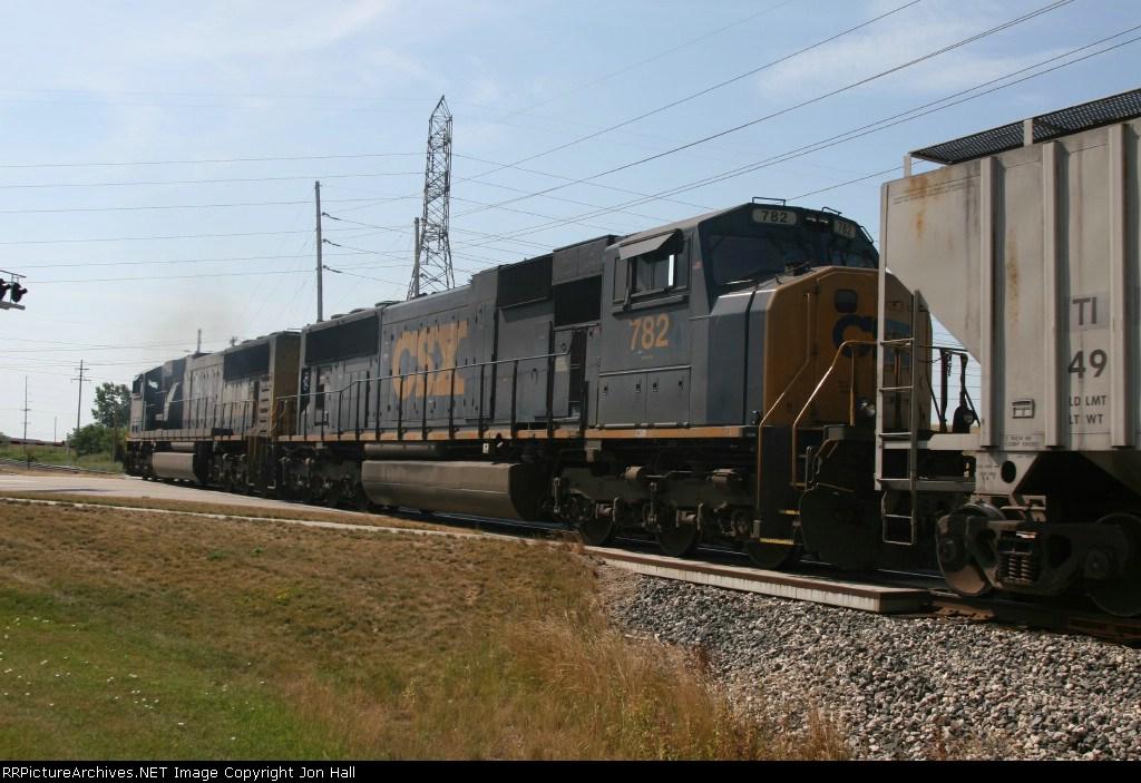 CSX 782 & 770