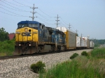 CSX 9029 & 8819 rolling east with Q326-10