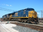 CSX 5485 & 5321 shoving back into the yard with 2654 to pick up the outbound Q326