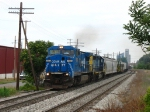 CSX 7307 & 8142 rolling east with Q326-17