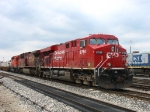 CP 8784, 9737 & 5625 sitting on the point of X500-17