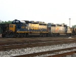 CSX 6134 & 2667 waiting to go to work