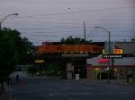 BNSF 4105 at 5:30 A.M.