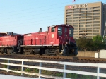 Red Checkerboard, Red Locomotive