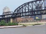 UP 8188 and 6402 Lead a Coal Train Past the McArthur Bridge
