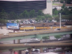 UP 776 leads local into yard as UP Coal train heads through
