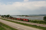 CP train 286 and a tug