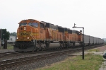 BNSF 9932 hauls the combustibles