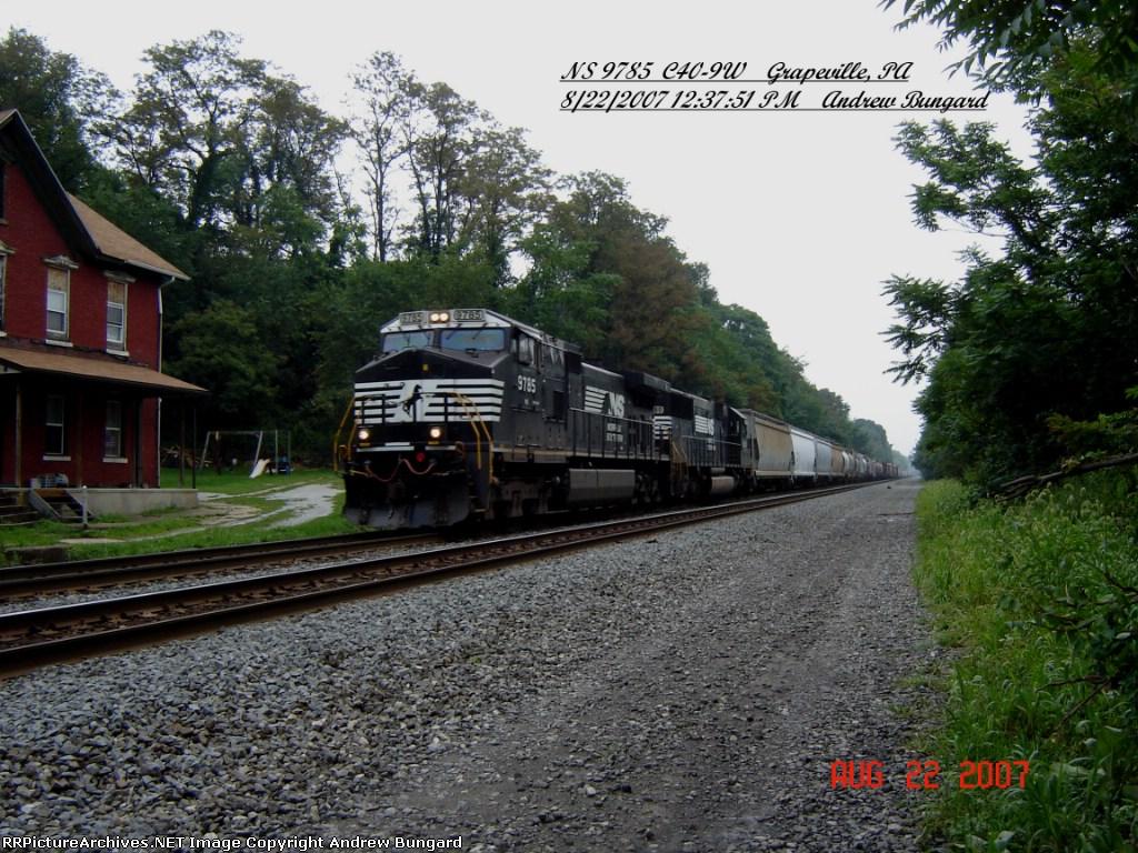 NS 9785     C40-9W       August 22, 2007
