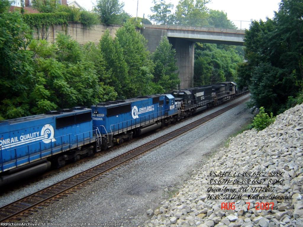 NS 5401     SD50      Aug 7, 2007