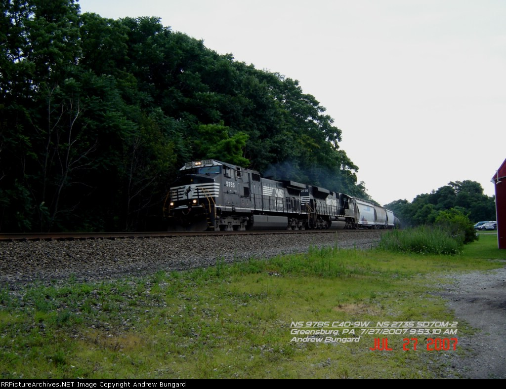 NS 9785     C40-9W     July 27, 2007