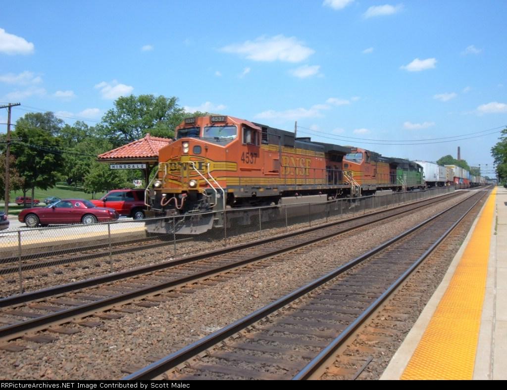 BNSF 4537, 5415 & 7913