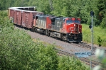 CN 2553 through Nopeming Jct