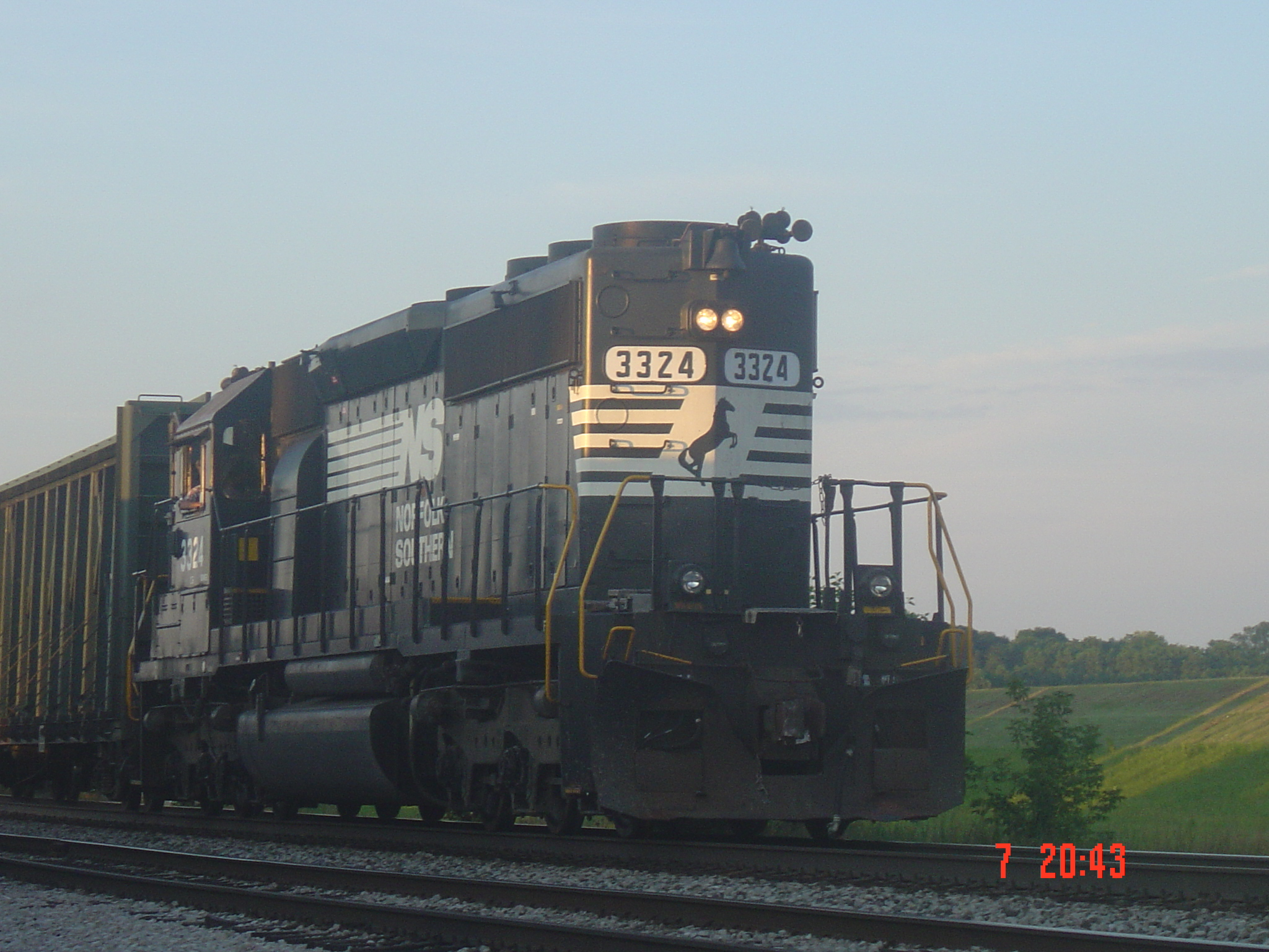 NS 3324 on the B31