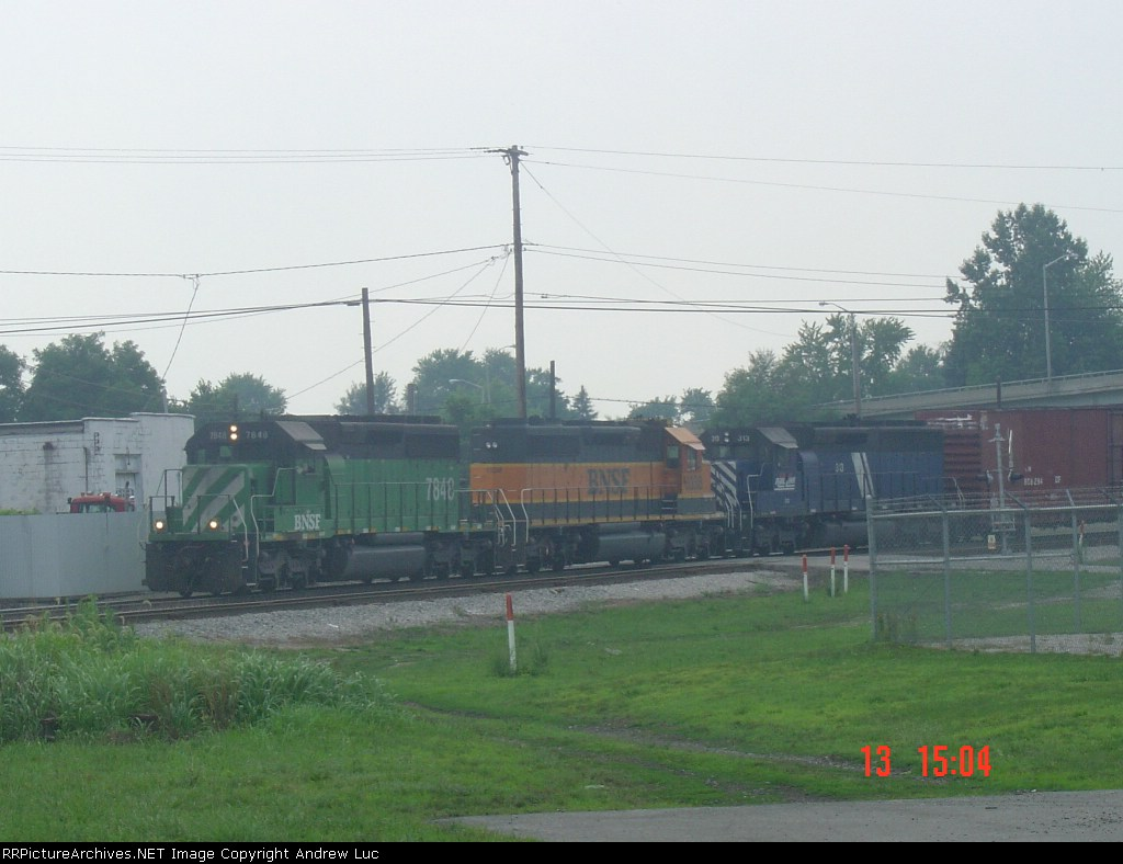 NS 176 with a great lashup