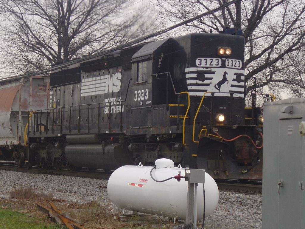 NS 3323 heading for Green Springs and Fostoria