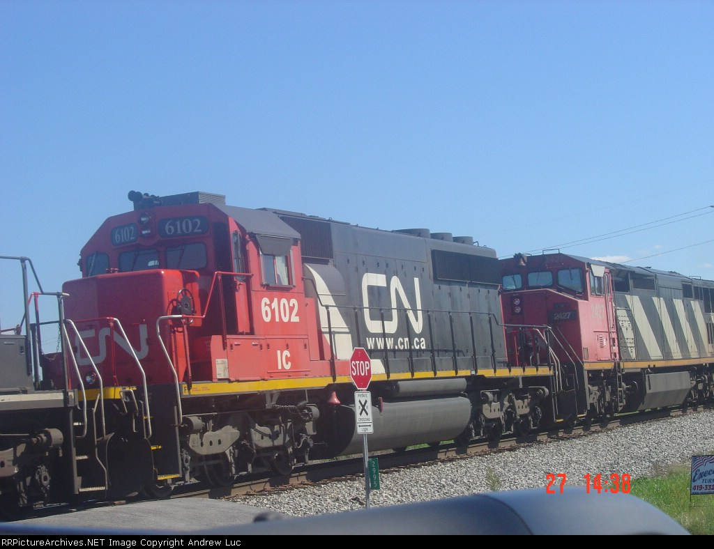 NS 331 with CN 6102