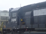 NS 343 with NS 3326