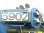 CSX 5902 Numberboard & Headlights