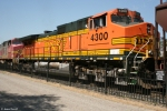 BNSF 4300 (Dash 9) in Vancouver grain train consist