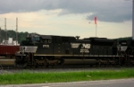 NS 2709 At the KCS yard